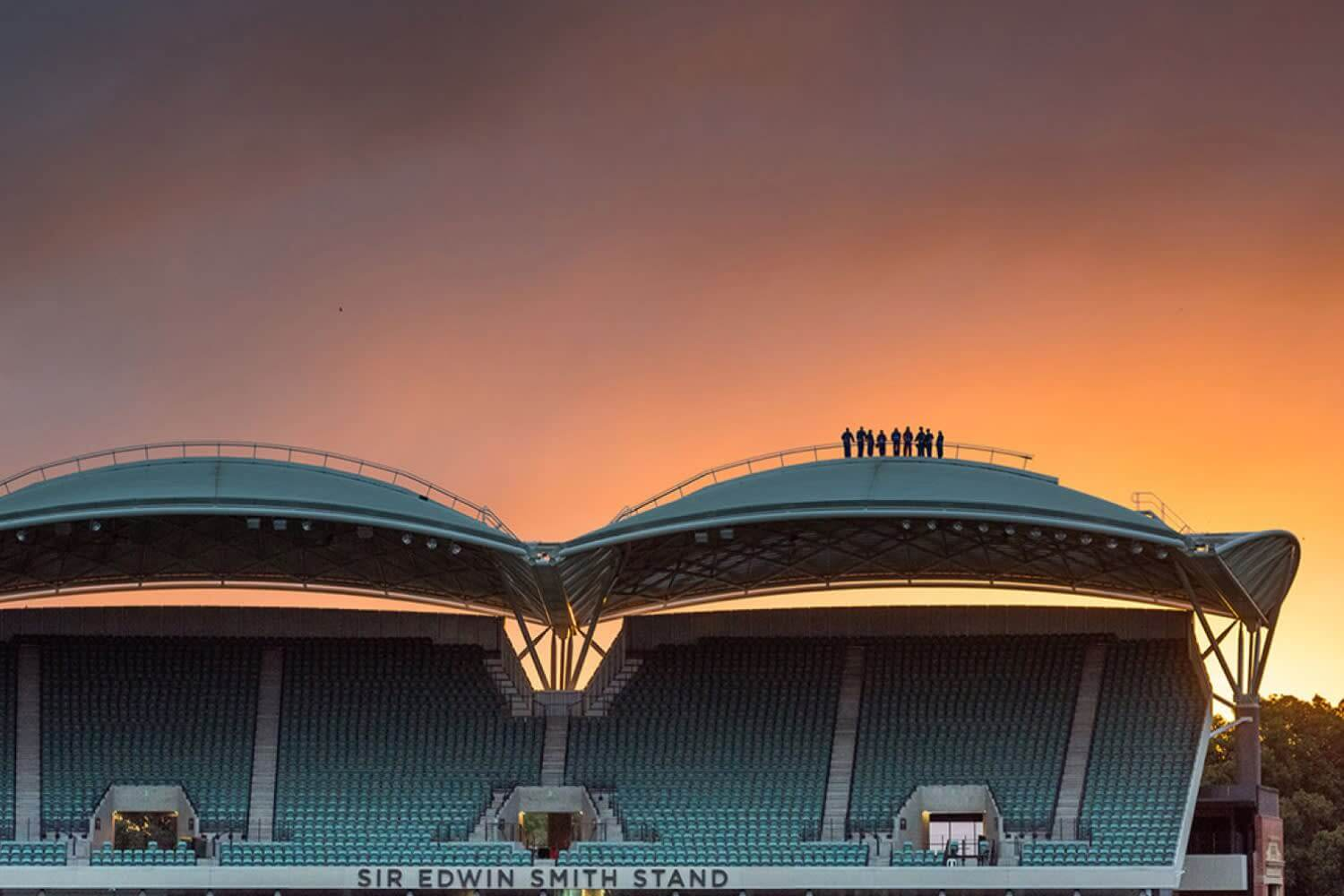 Adelaide Oval Roof Climb