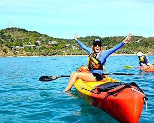 Brisbane Day Trips - Byron Bay Kayak Tour