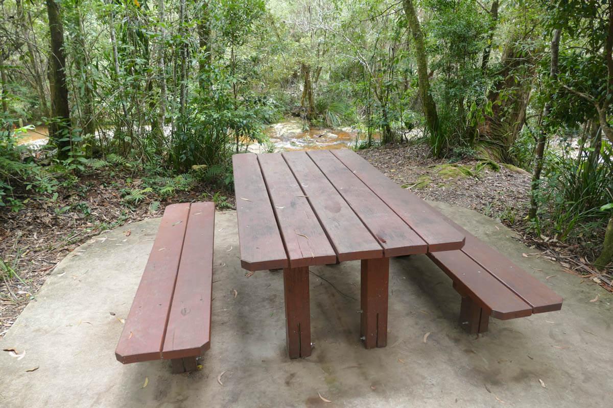 Springbrook picnic areas