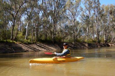 Kayak the Murray River